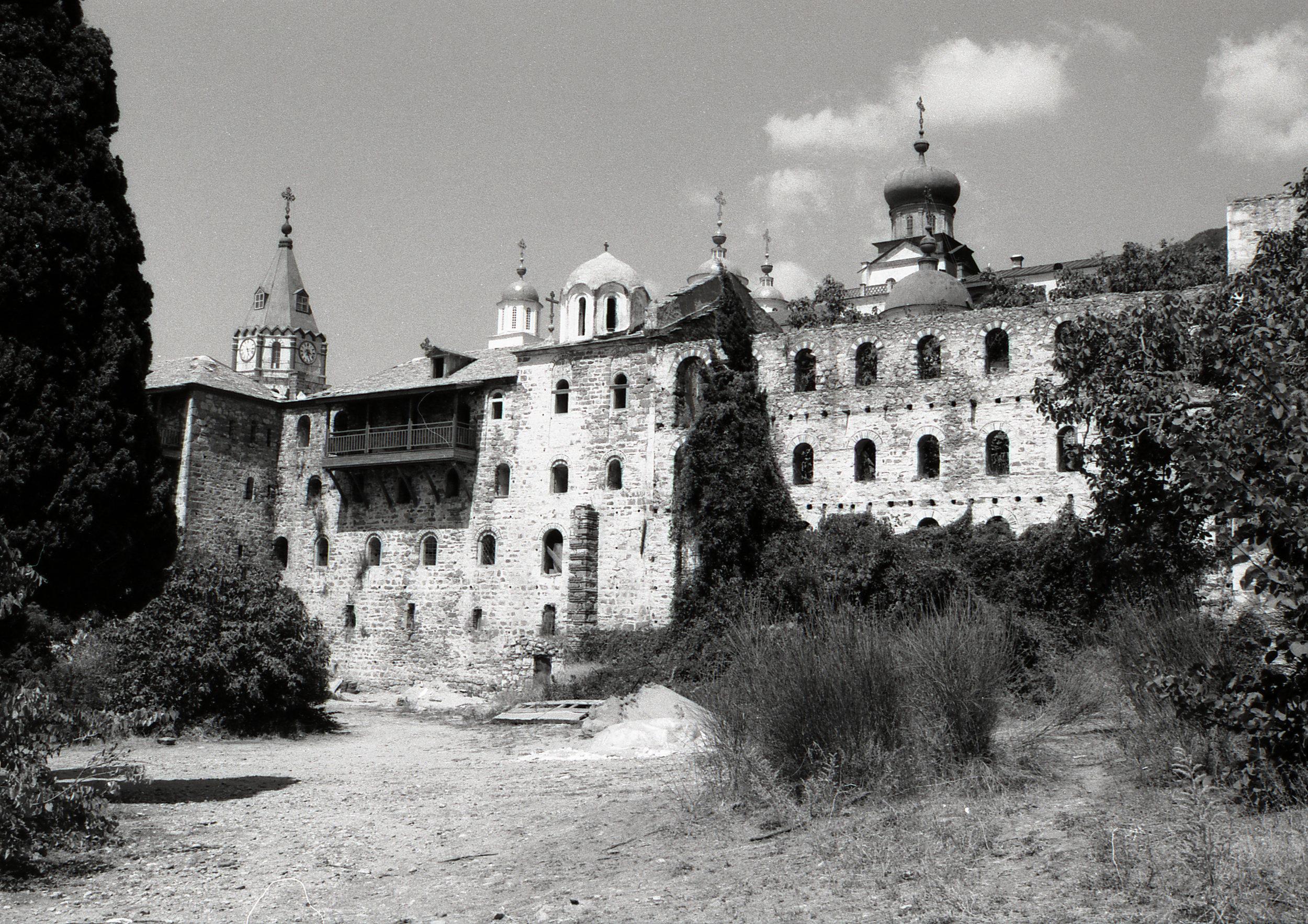 A monastary on Mt Athos, Greece