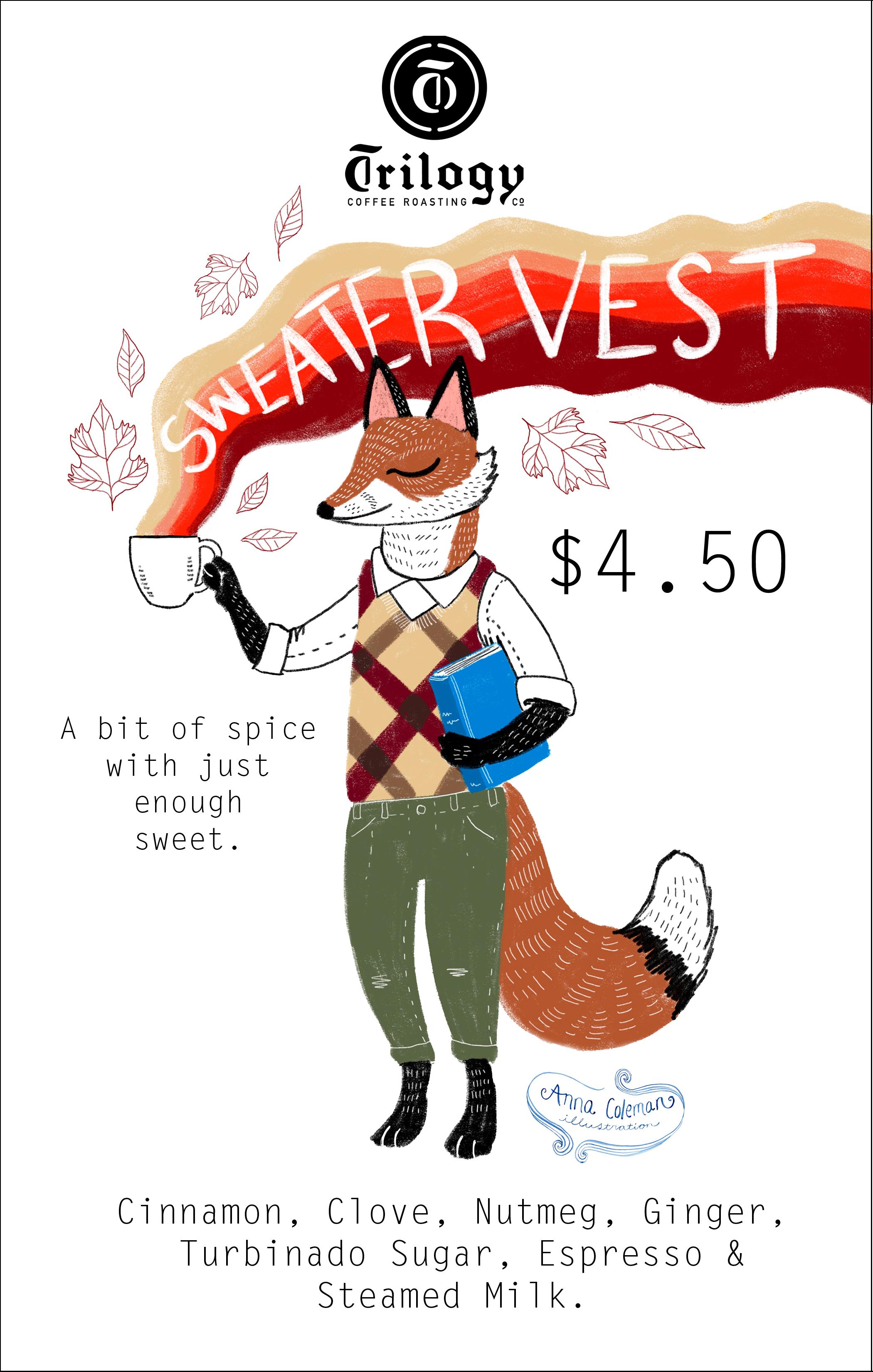 Sweater Vest Drink Flyer
