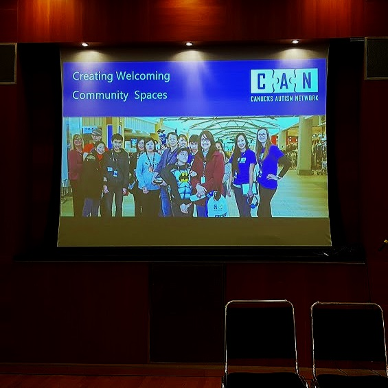 Creating Welcoming Community Spaces, Canucks Autism Network