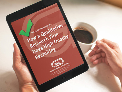 Free Checklist: How a Qualitative Research Firm Does High Quality Recruiting