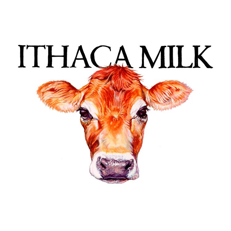 Ithaca Milk logo
