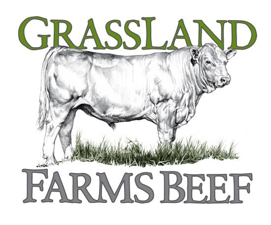 Logo for GrassLand Farms Beef