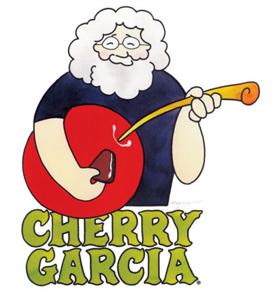 Illustration for poster to promote the Ben & Jerry's flavor  Cherry Garcia