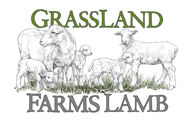 GrassLand Farms Lamb logo