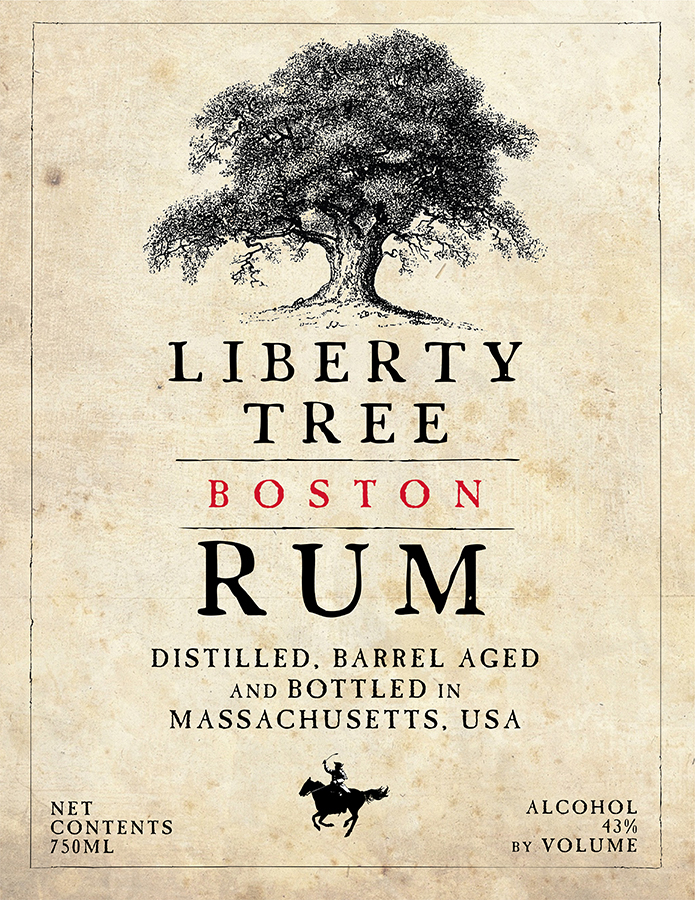Promotional poster for AstraLuna's Liberty Tree Rum