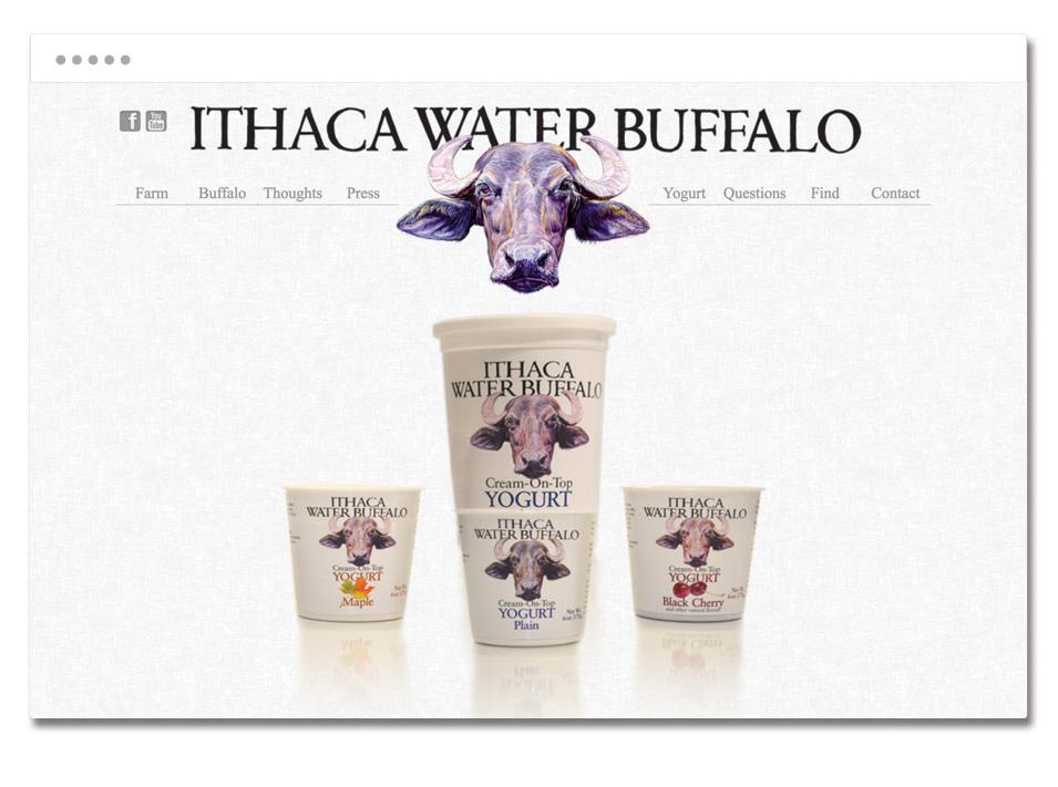 Ithaca Water Buffalo website homepage