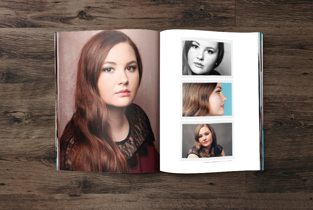 Layouts are updated year to year. Ask how you can add your own selfies to your magazine. Contact us if you have some ideas you'd like to see in YRBK.  info@yrbkstudio.com