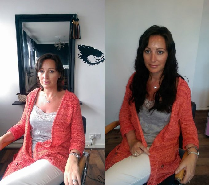 Mni Tip Hair Extensions 16 inches