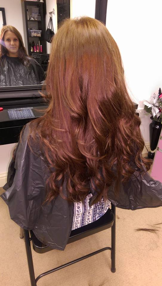 Micro Wefted Hair Extensions 20 Inches