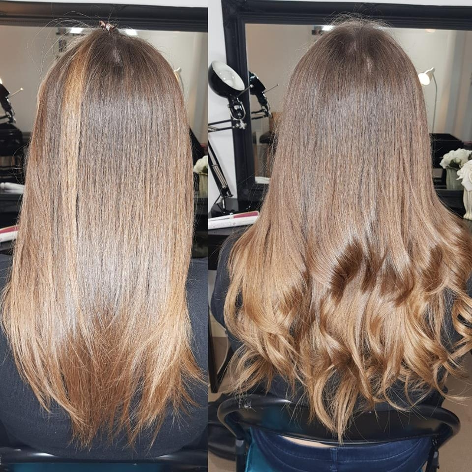 Mini Tip Hair Extensions Ombre 16 Inch