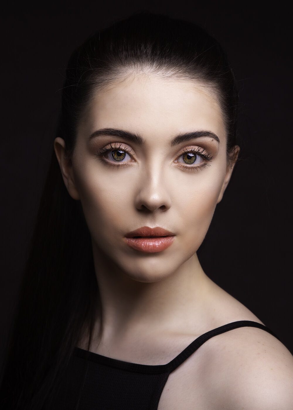 An image of Ellie during a workshop with  Gary Hill