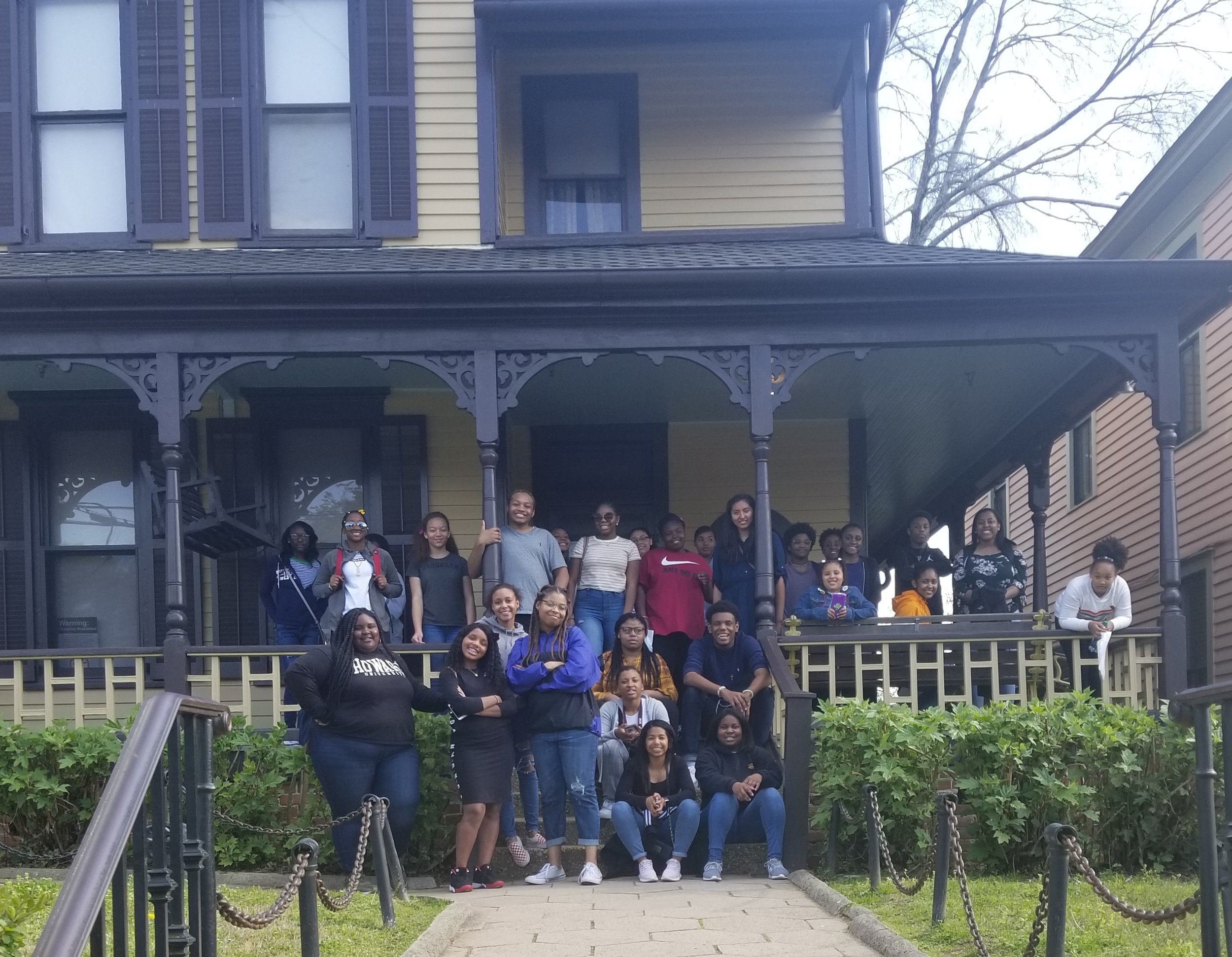Project Discovery students at the Martin Luther King Jr. Center