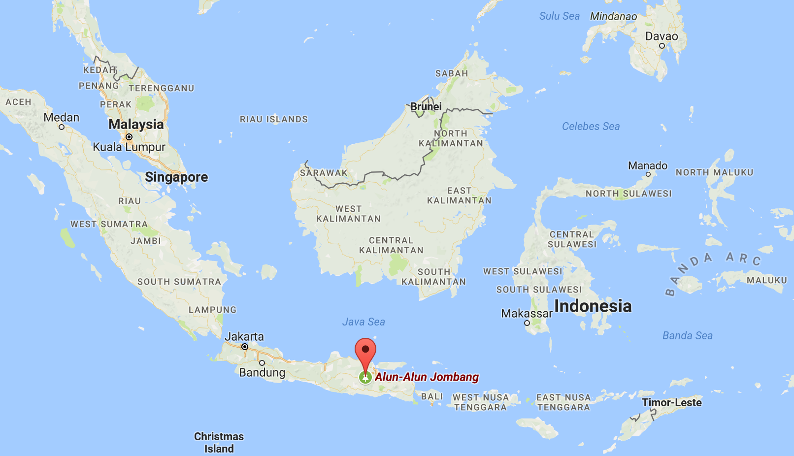 Pesantren Tebuireng school is located in the town of Jombang, about 500 miles east of Jakarta.