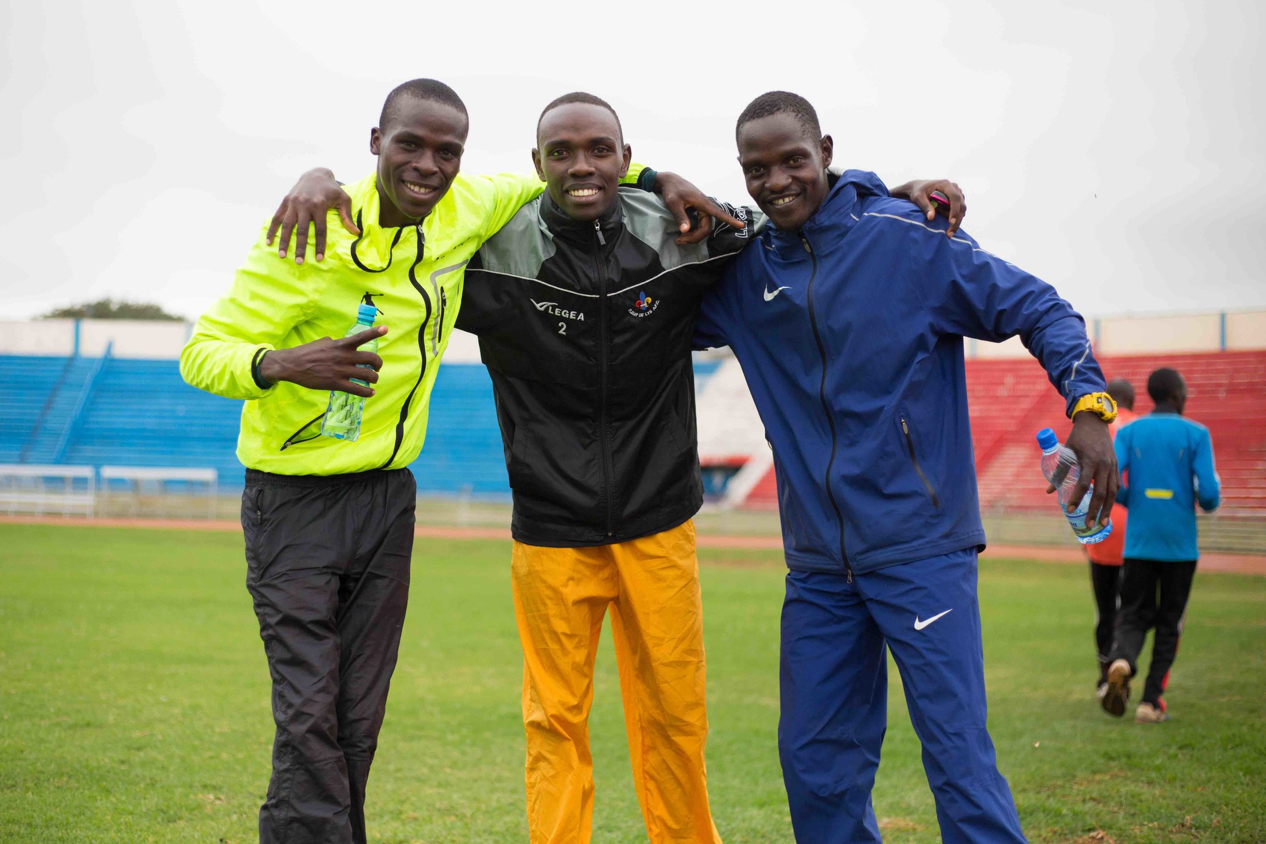 Kenyan Deaf Paralympic Team. – Photo by Wes Parnell