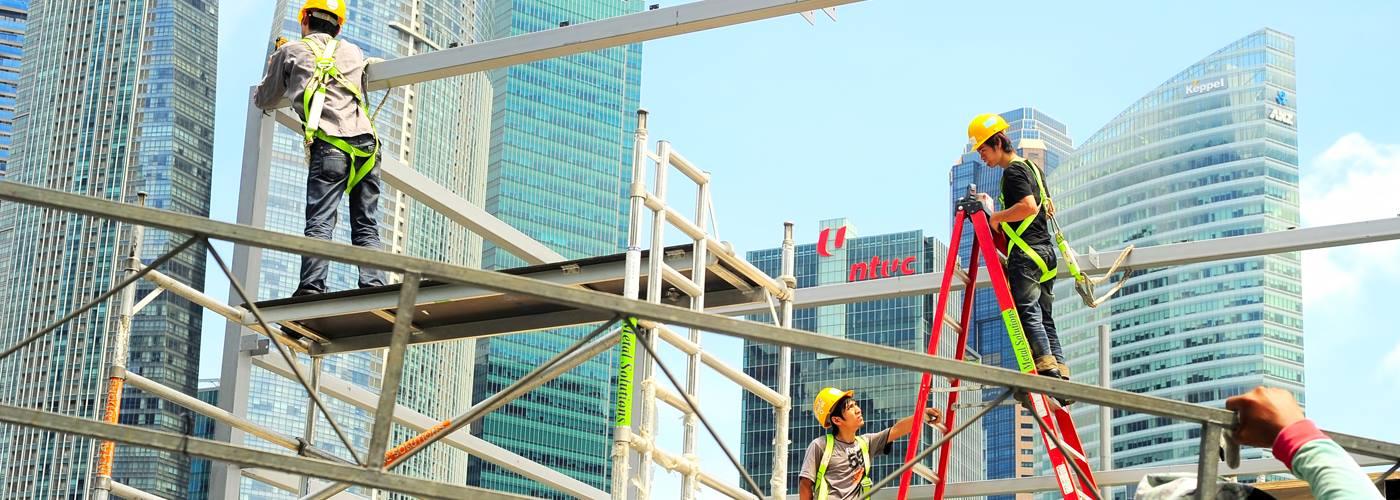 Migrants in Singapore (Photo credit: NGO TWC2)