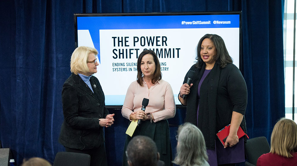Power Shift Summit in January 2018 at the Newseum in Washington, D.C. (Credit: Newseum)