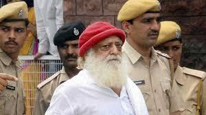 Asaram Bapu in police custody for a court hearing