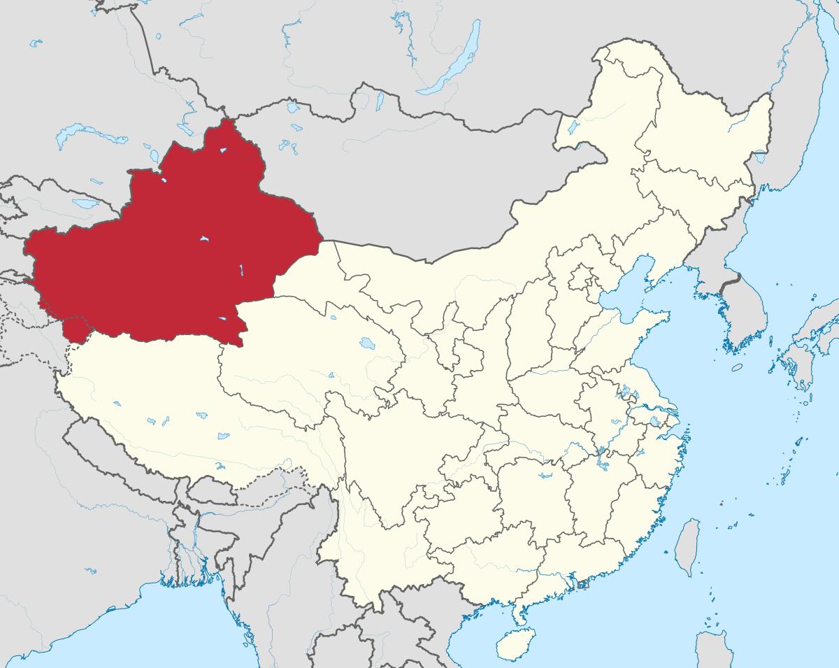 Xinjiang Uyghur Autonomous Region (Photo: Wikipedia)