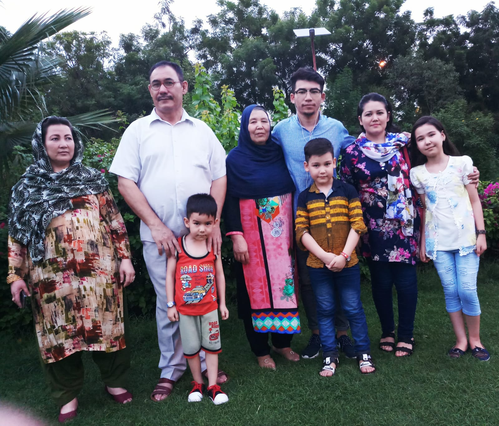 The Sultani family in 2018. Submitted photo.