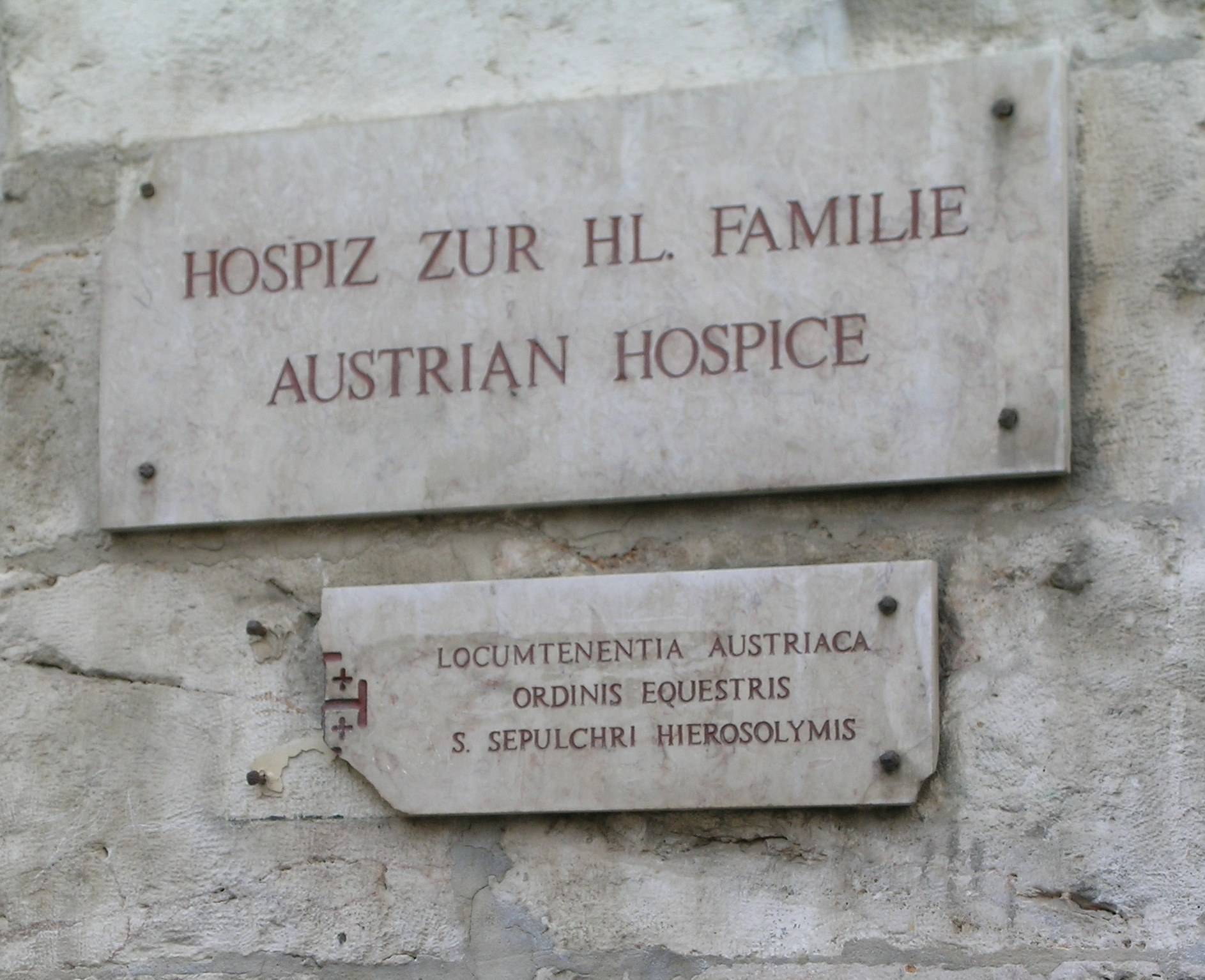 austrian hospice jerusalem old city
