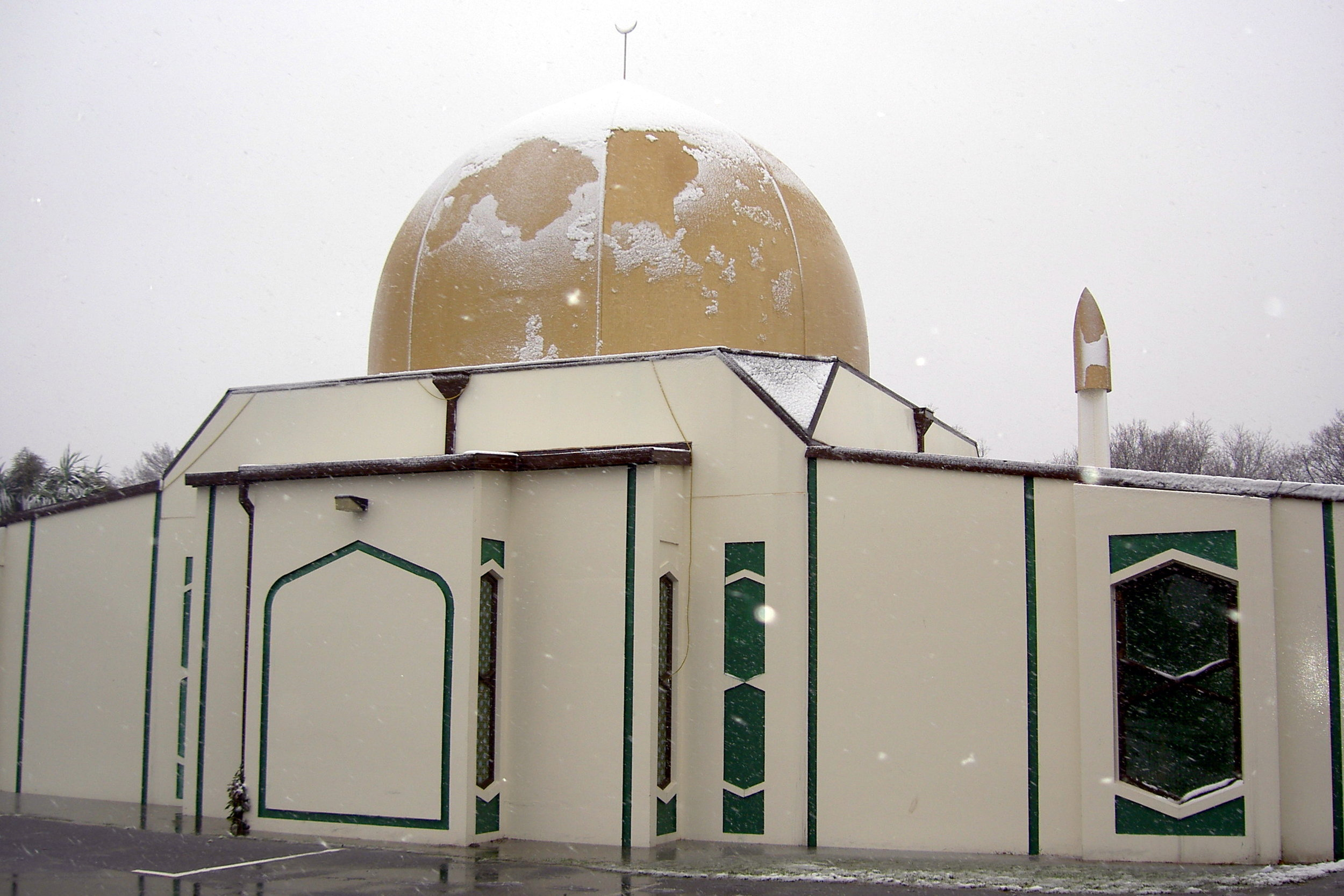 Al Noor Mosque in Christchurch.