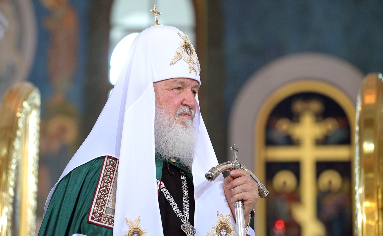 Patriarch Kirill. Photo from the  website of the President of the Russian Federation , used with Creative Commons license.