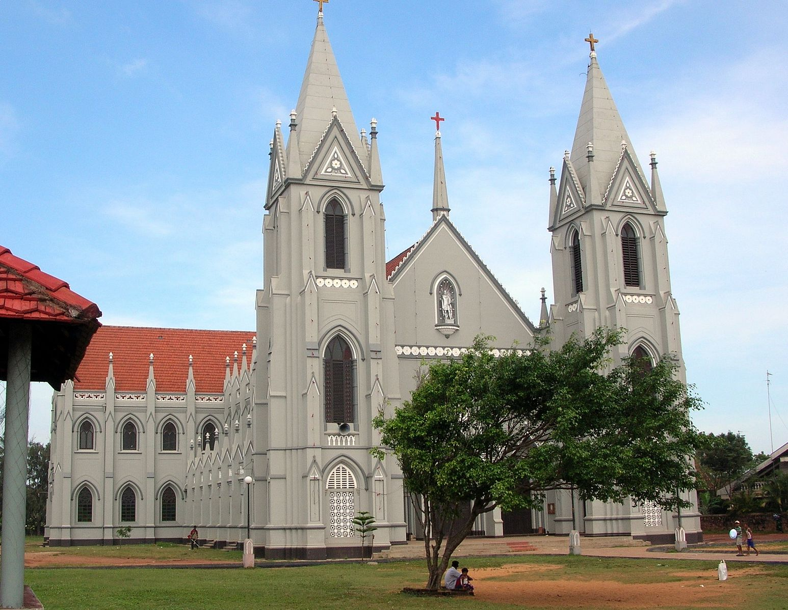 St. Sebastian's Church in Negombo, Sri Lanka was one of those attacked on Easter Sunday 2019.