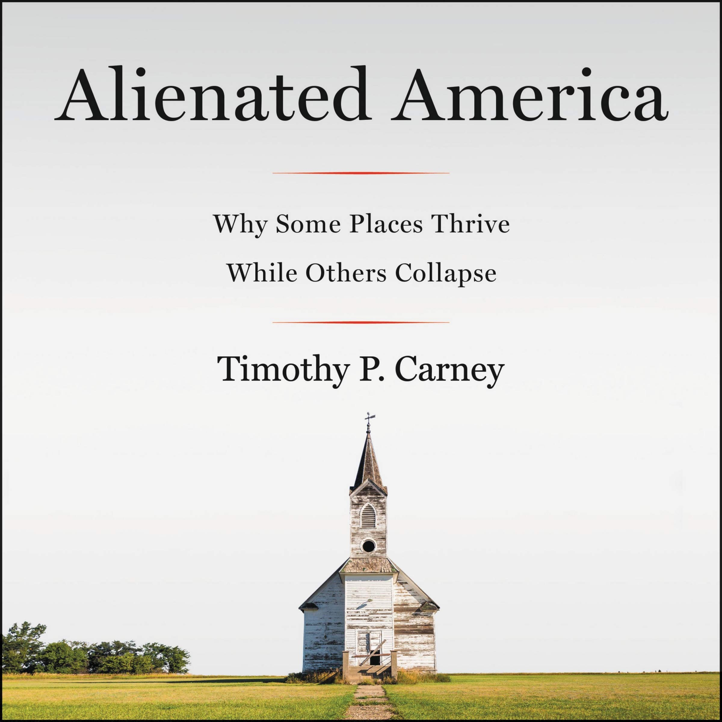 The book cover for  Alienated America , published by Harper Collins in Feb. 2019.