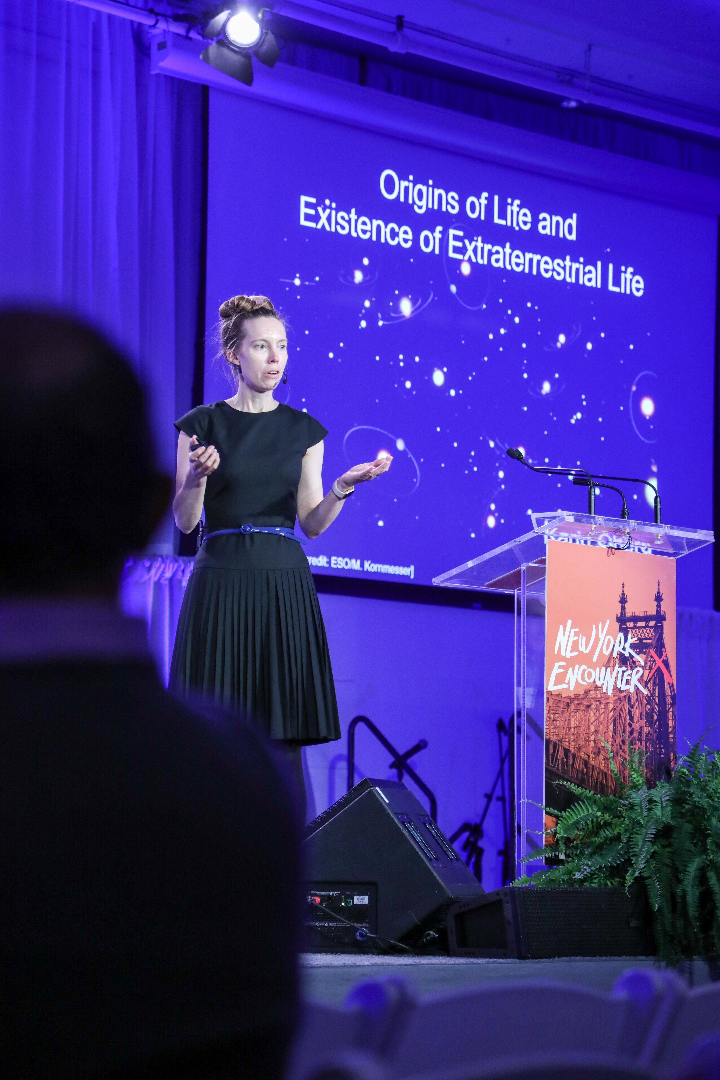Karin Öberg, an astronomy professor at Harvard.