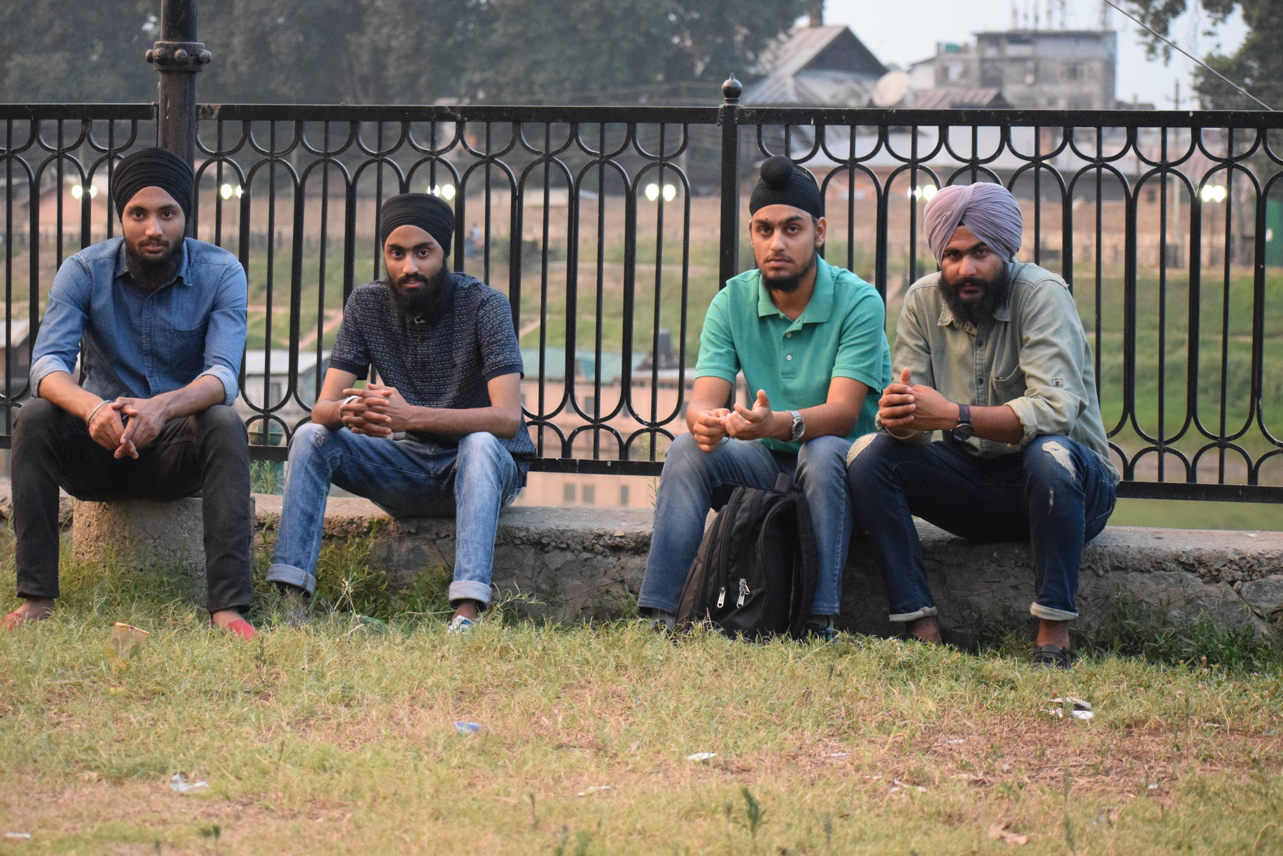 Young Sikhs feel dejected due to the broken promises by successive regimes. Sikhs say they are witnessing silent migration towards other Indian states due to lack of jobs for minorities in the state. Photo by Karanjeet Singh.