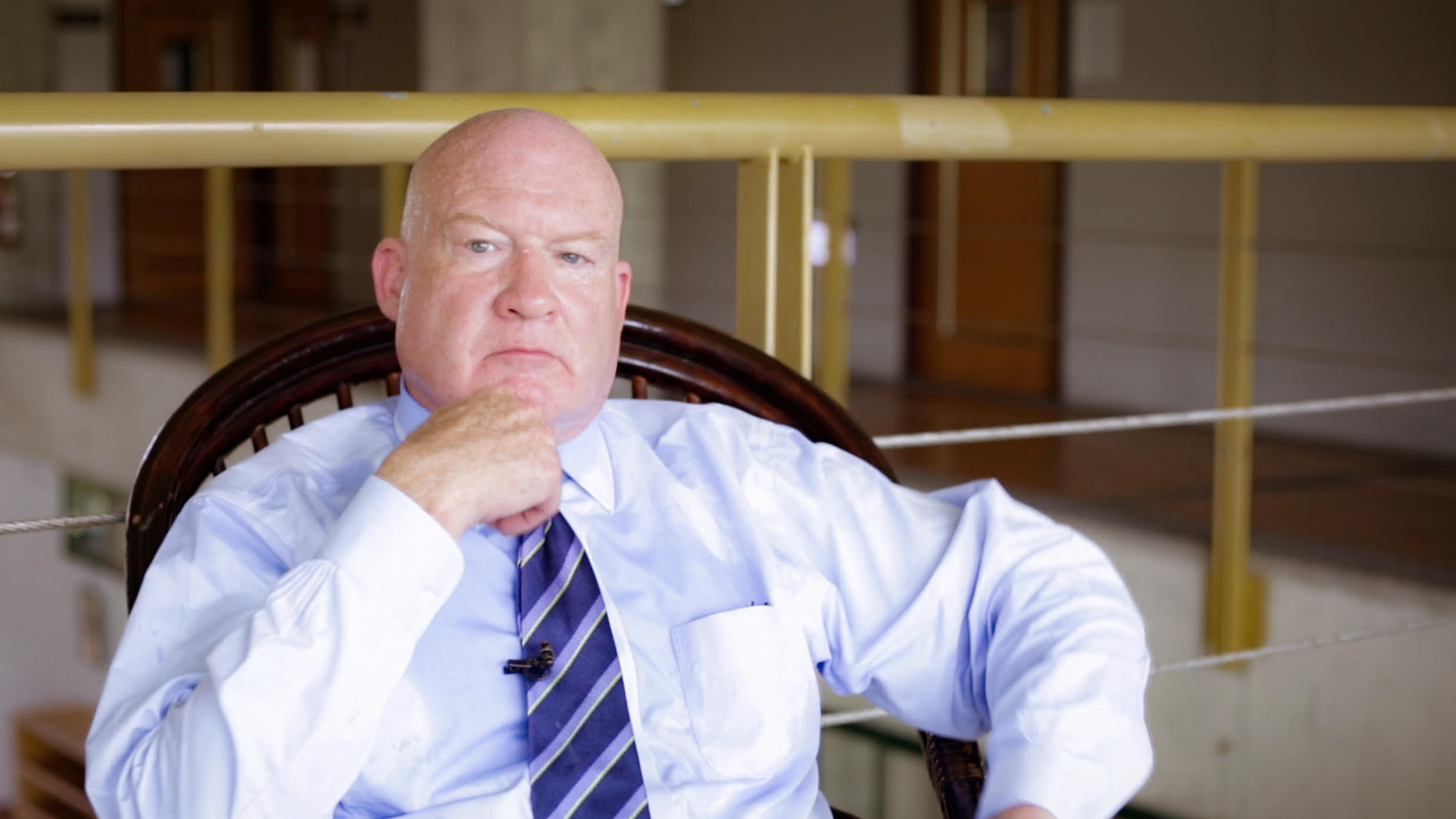 Ethan Gutmann, author of  The Slaughter , a book about mass killings and organ harvesting in China.