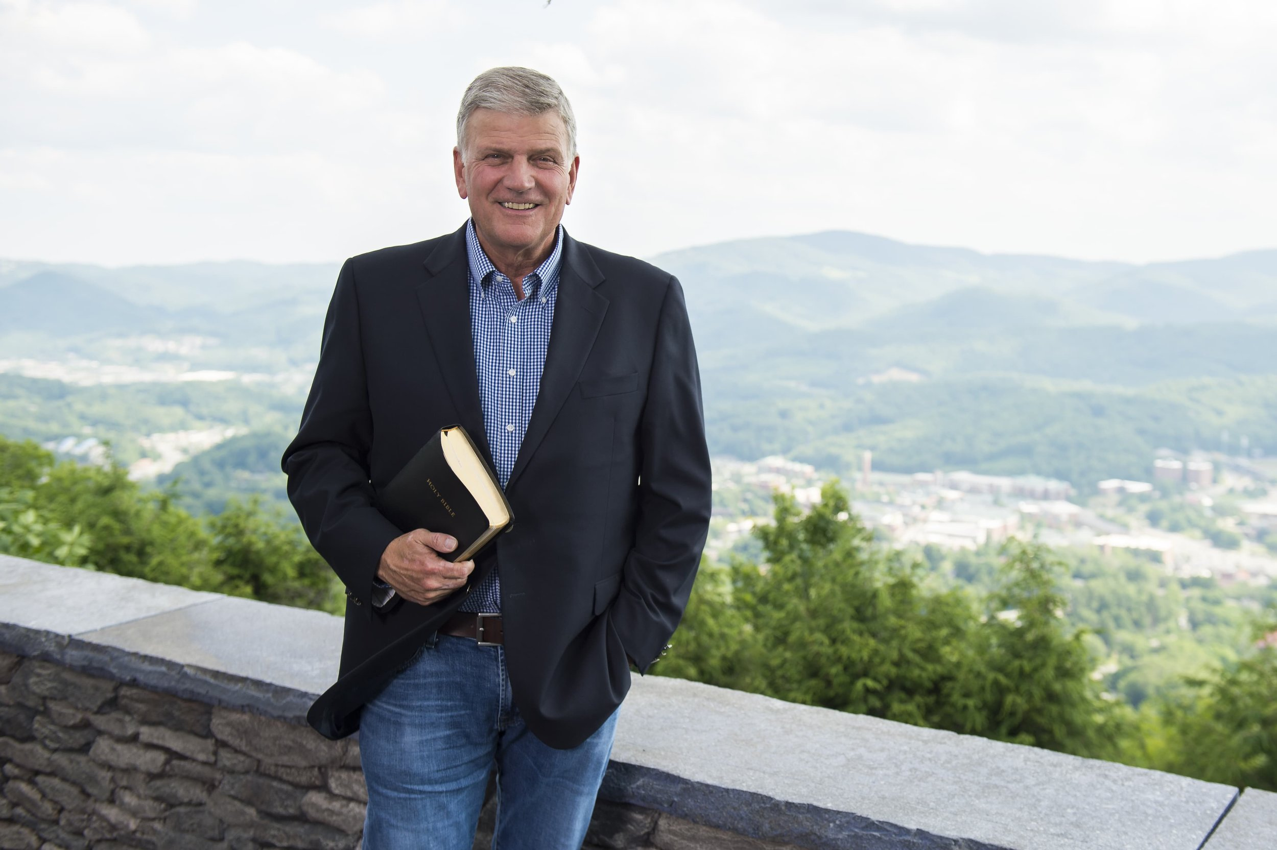 Franklin Graham, president of Samaritan's Purse and the Billy Graham Evangelistic Association. Photo courtesy of Samaritan's Purse.