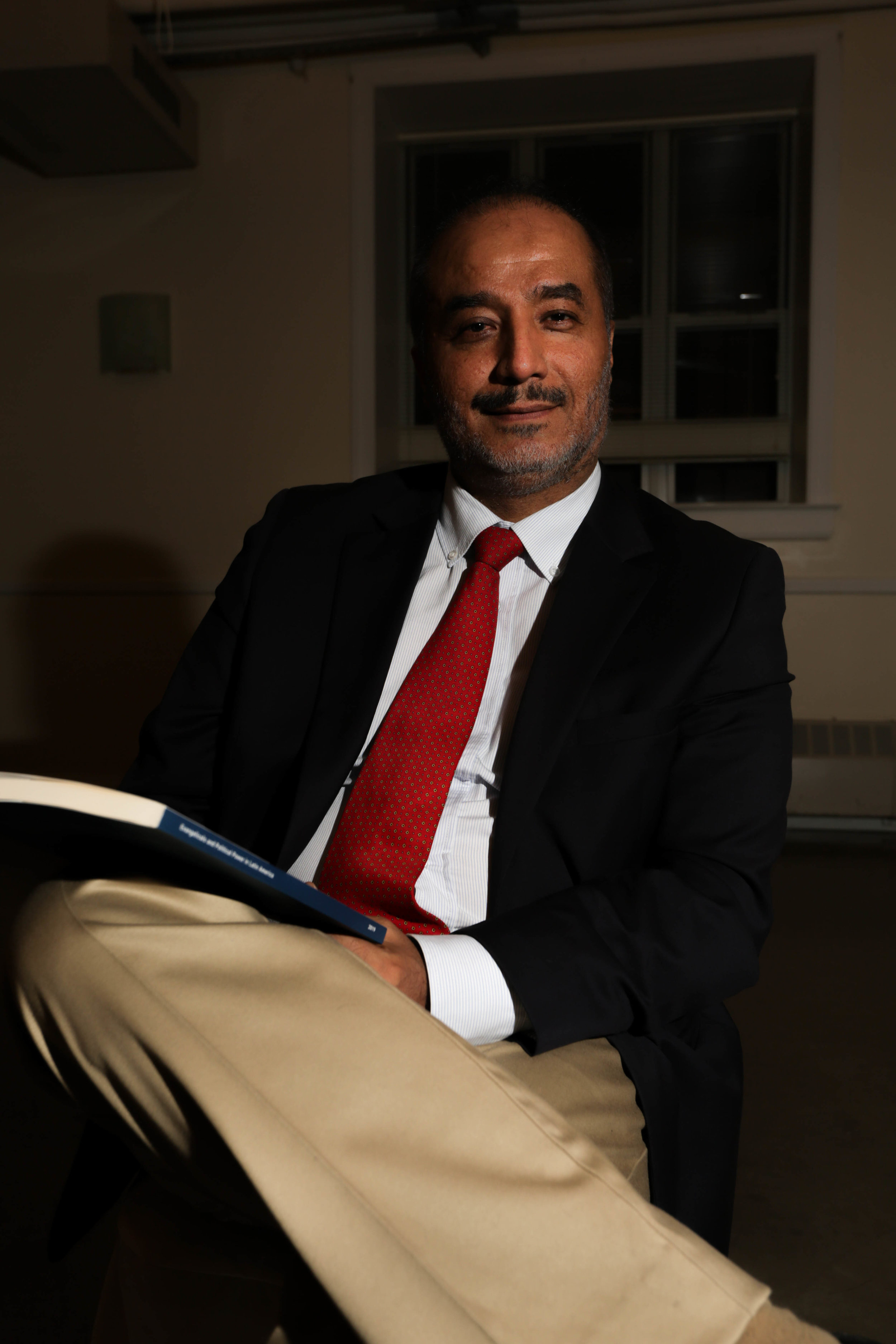 Peruvian sociologist Dr. Jose Luiz Guadalupe. Photo by Wes Parnell.