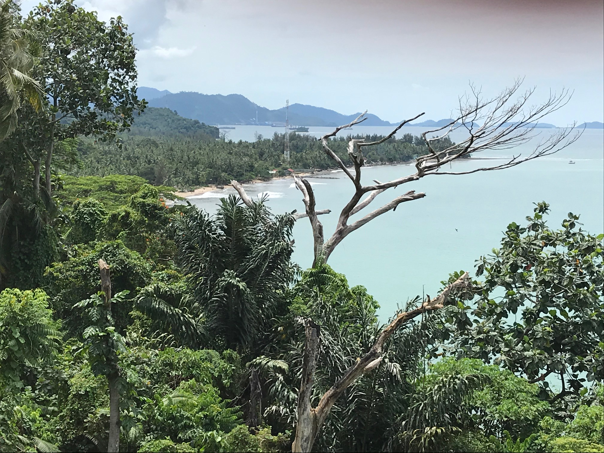 The coastline of West Sumatra in Padang. Photo by Paul Marshall.