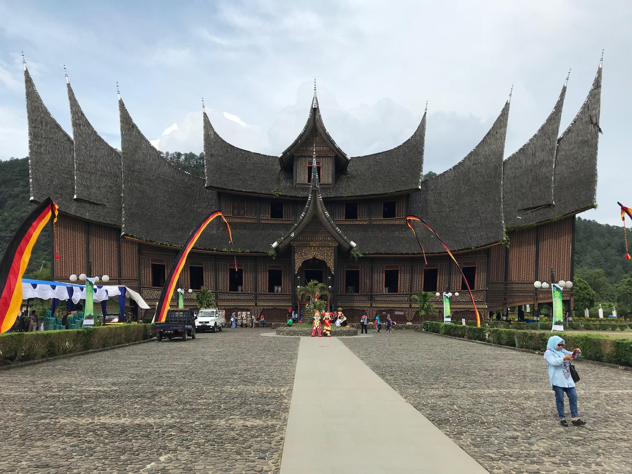 padang The Royal Pagaruyuang Palace at Batusangkar.jpg