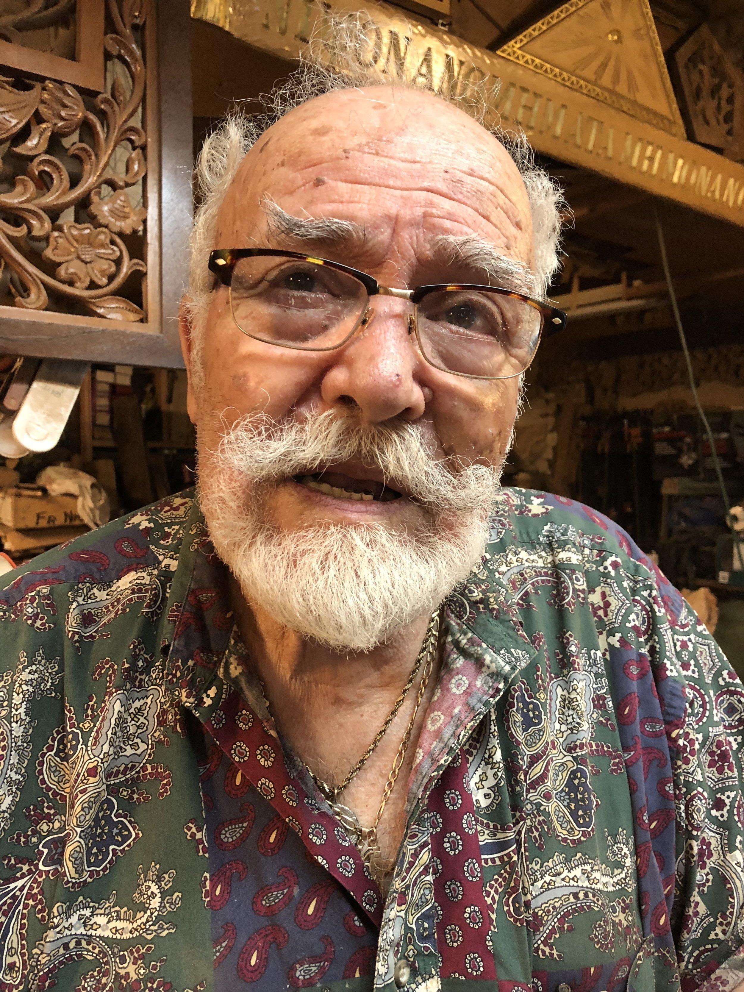 """""""It has to be worthy"""" - - Konstantinos Papadakis on his carving work"""