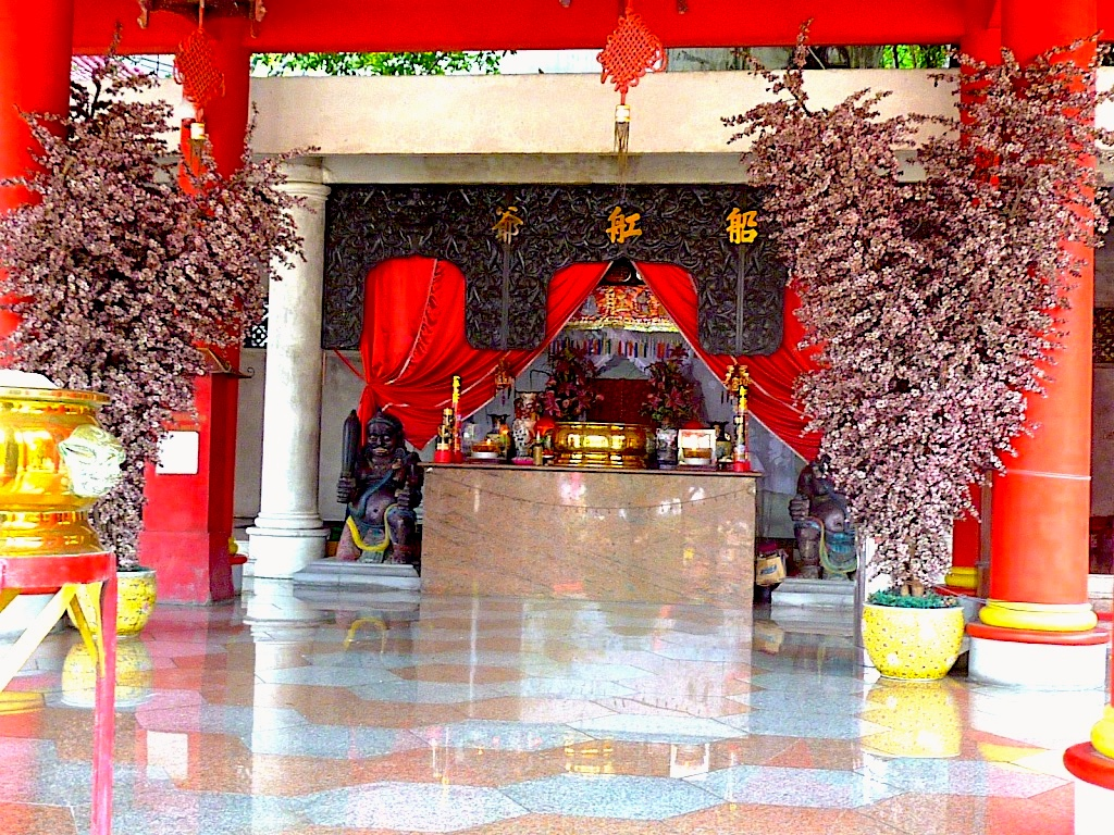 The shrine of Chinese Muslim admiral Cheng Ho, also called Zheng He. Photo by Paul Marshall.
