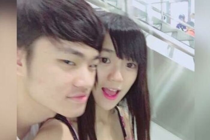 Chan Tong-Kai, now 20, and his then-girlfriend Poon Hiu-wing, 19. Photo from Facebook.