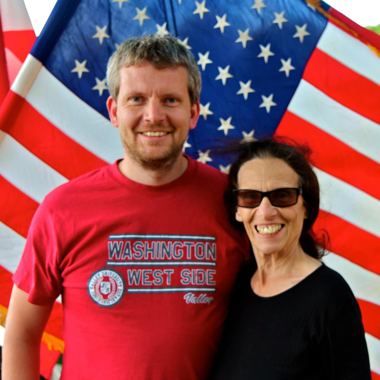 Dan Hegelund and Linda Meissner. Photo from Facebook.