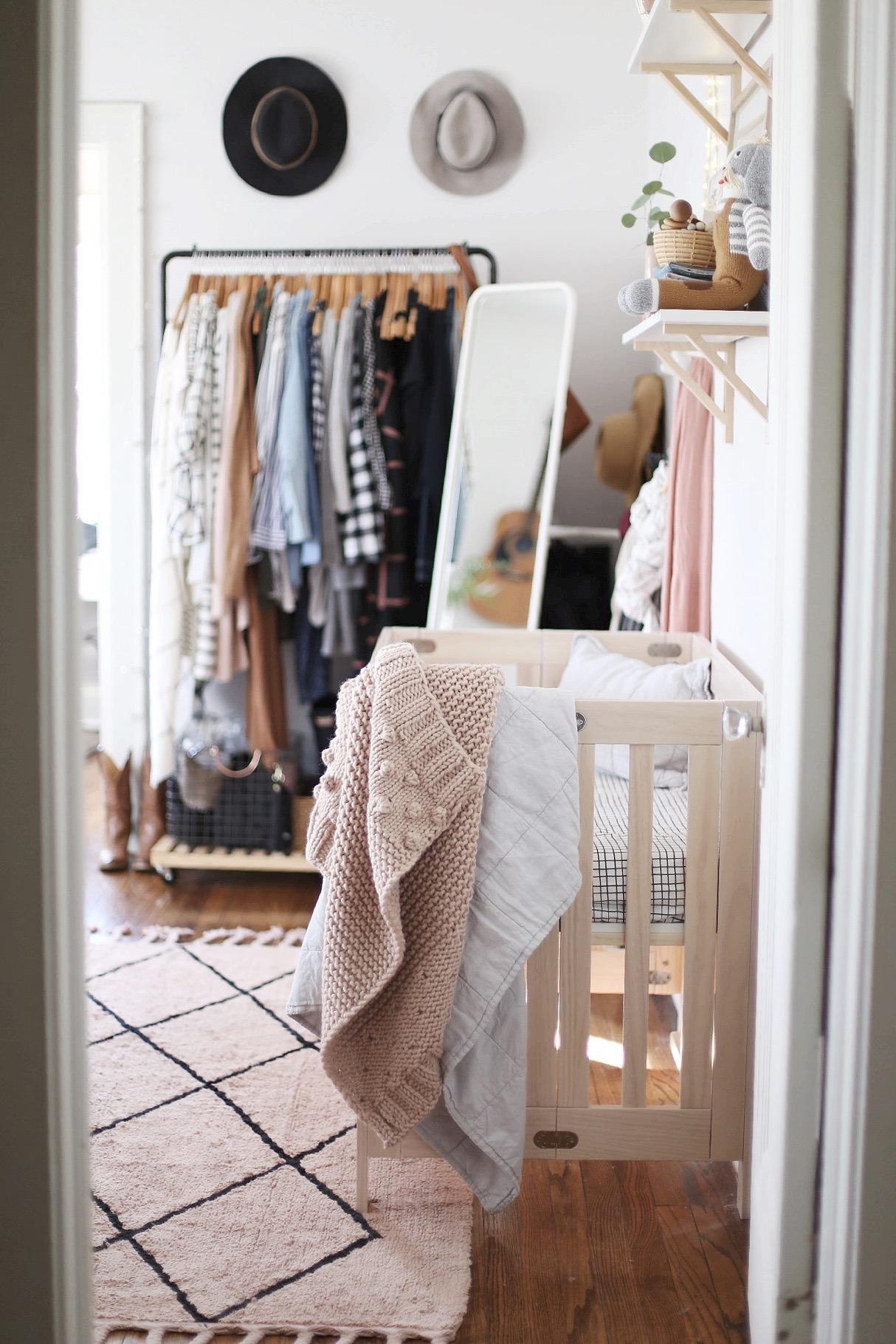 Nursery Nook Master Bedroom Reveal