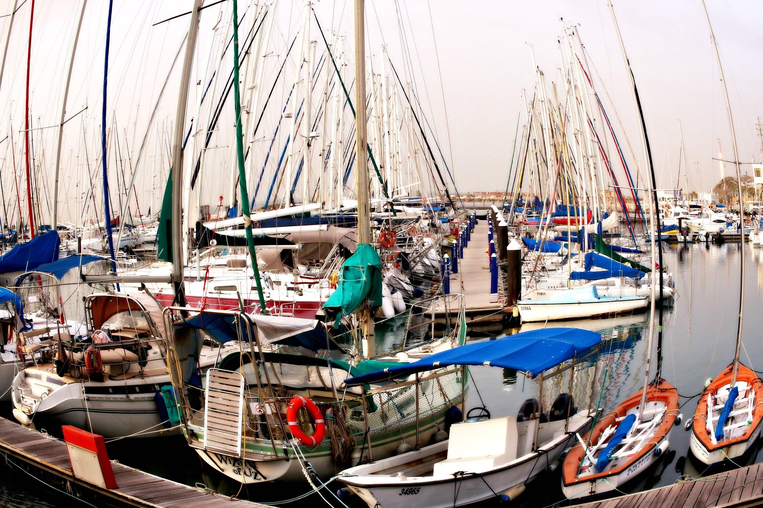 The Pier in Tel Aviv
