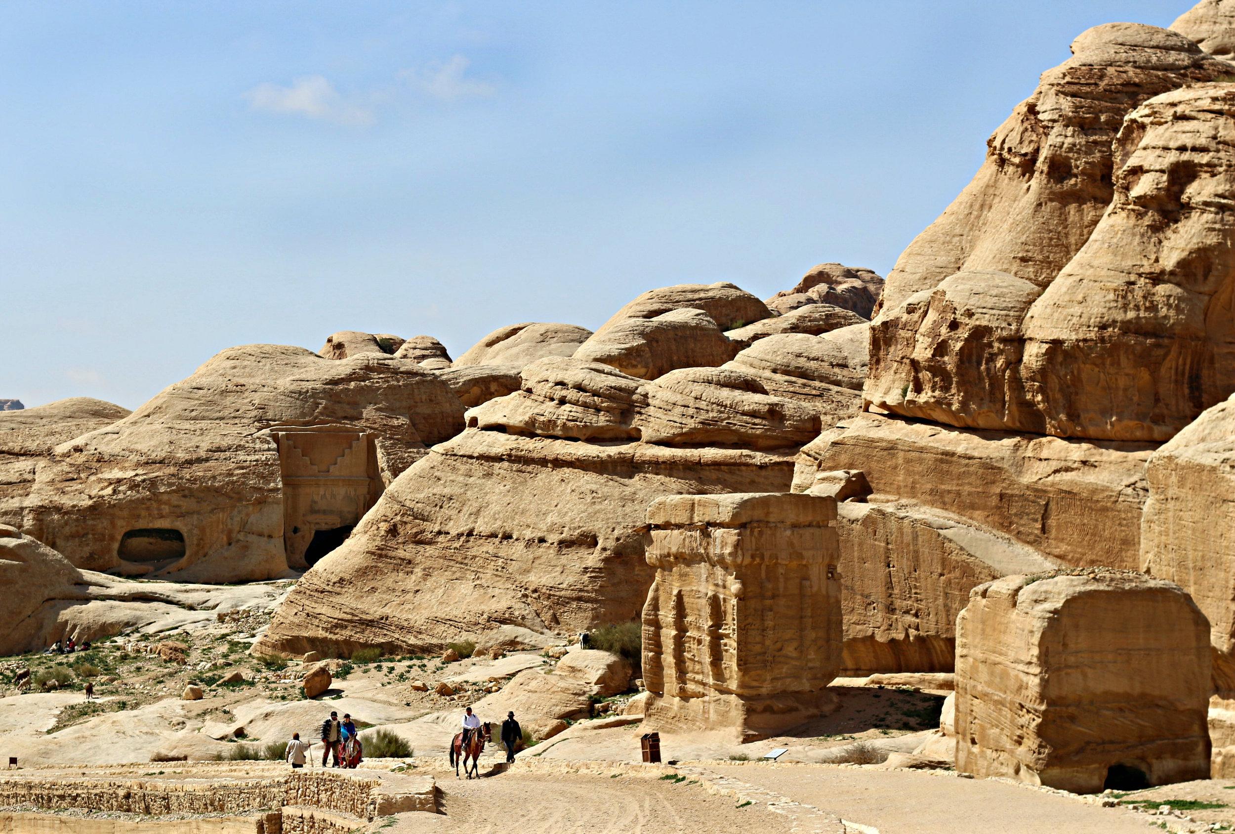 Petra Entry & Exit