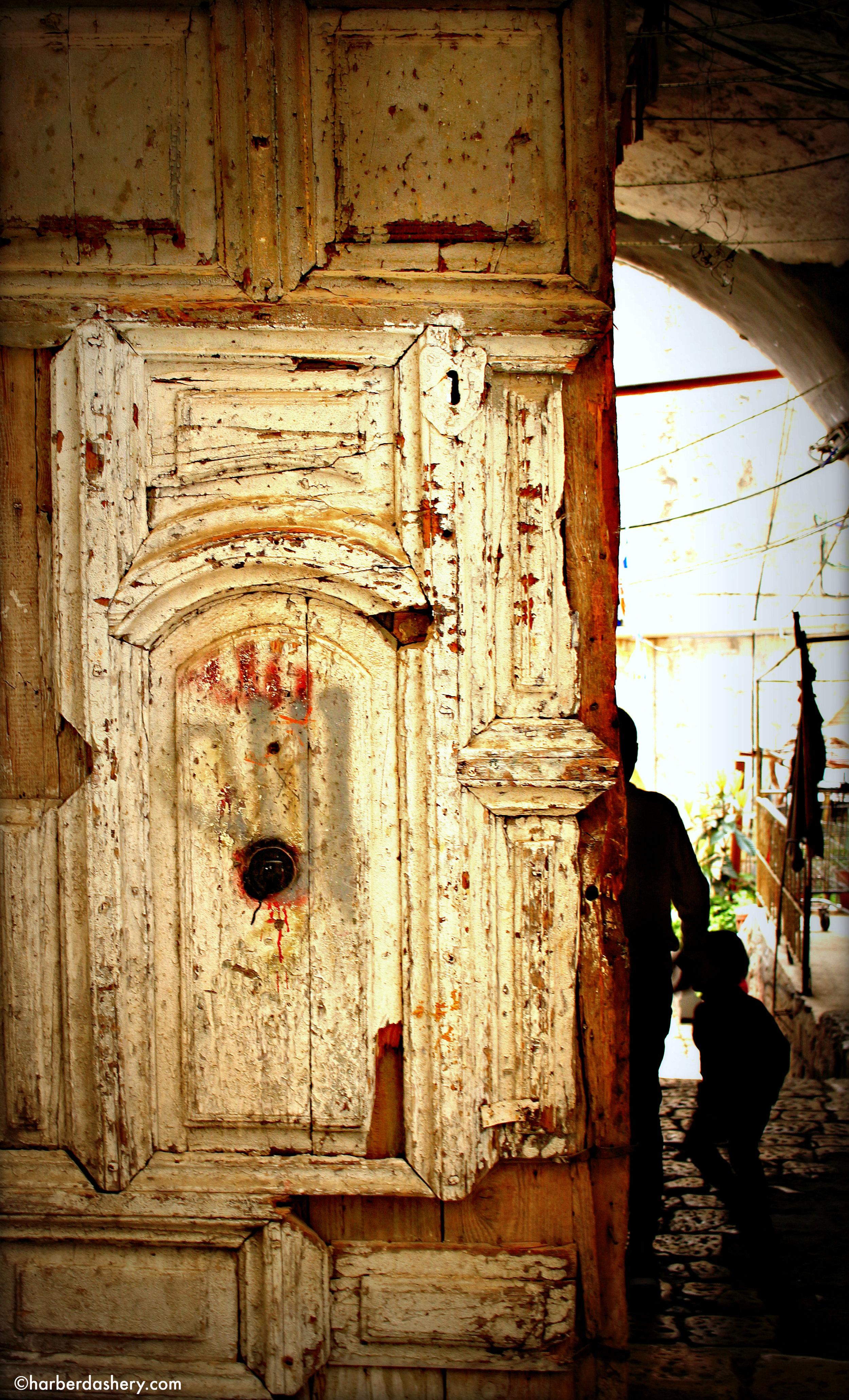 Door through Path of Old City