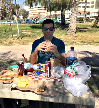 Picnic in the Park in Arad