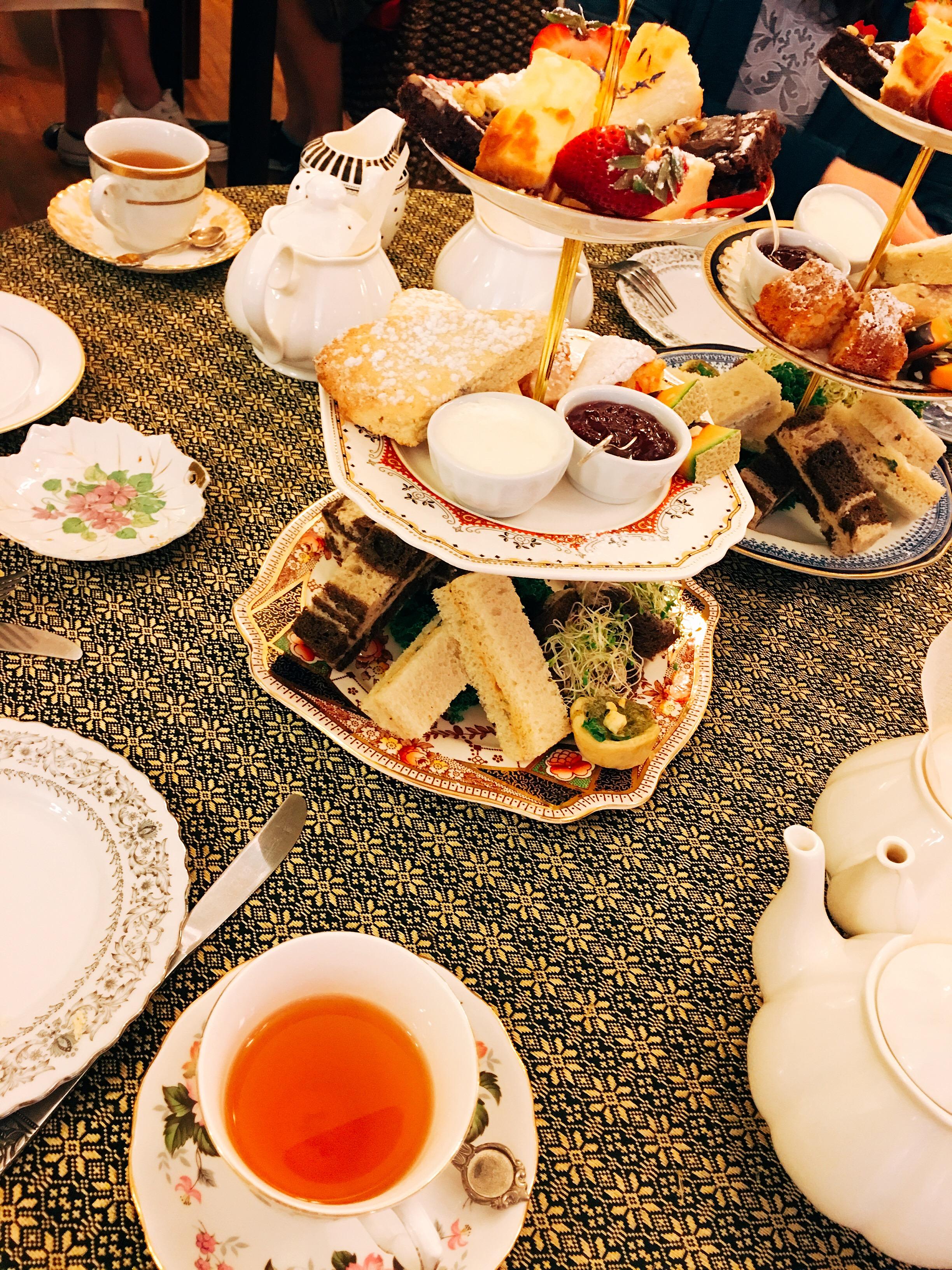 Afternoon tea at Venus Sophia
