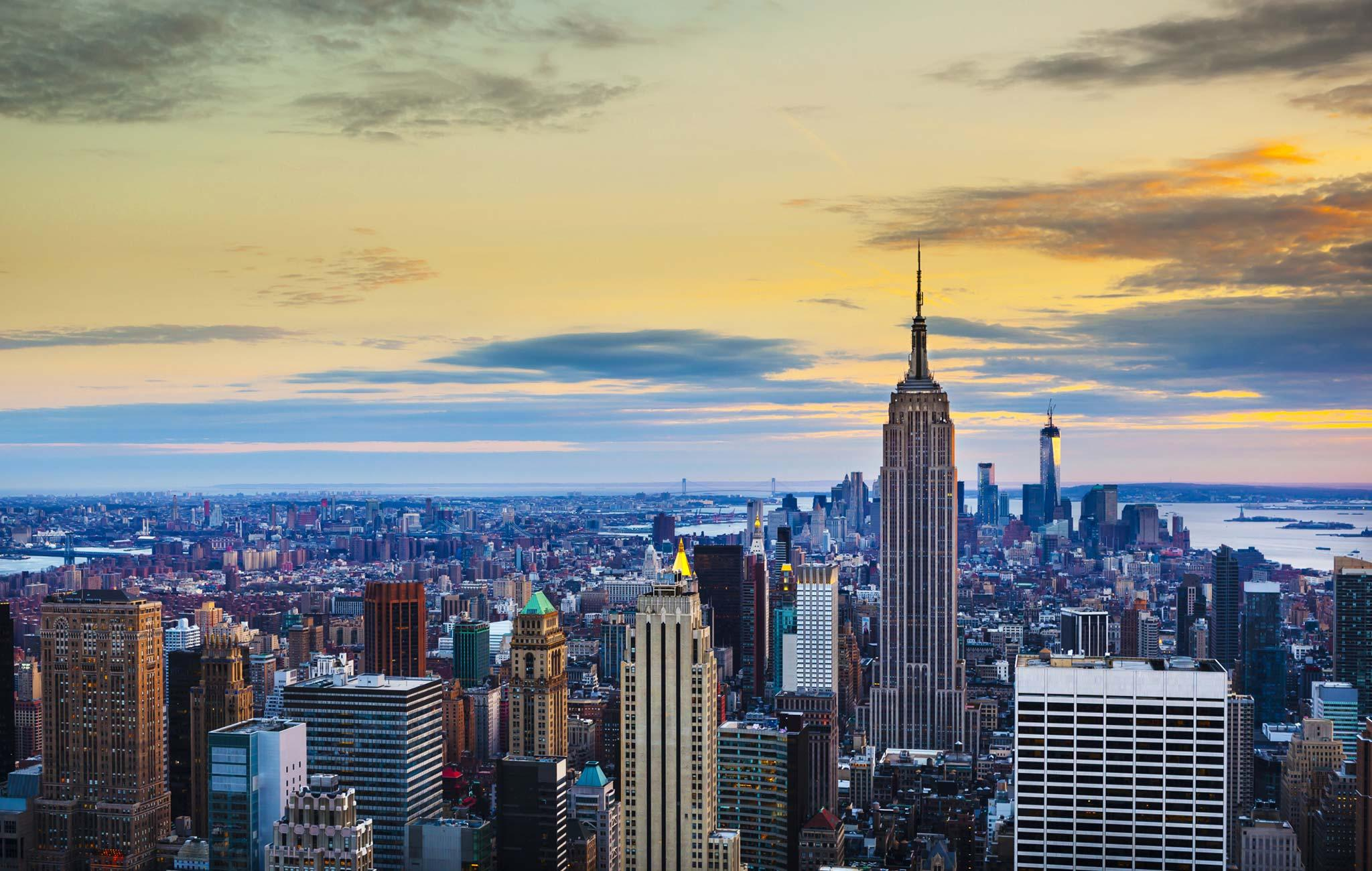 Fly to New York from Stansted Airport Essex