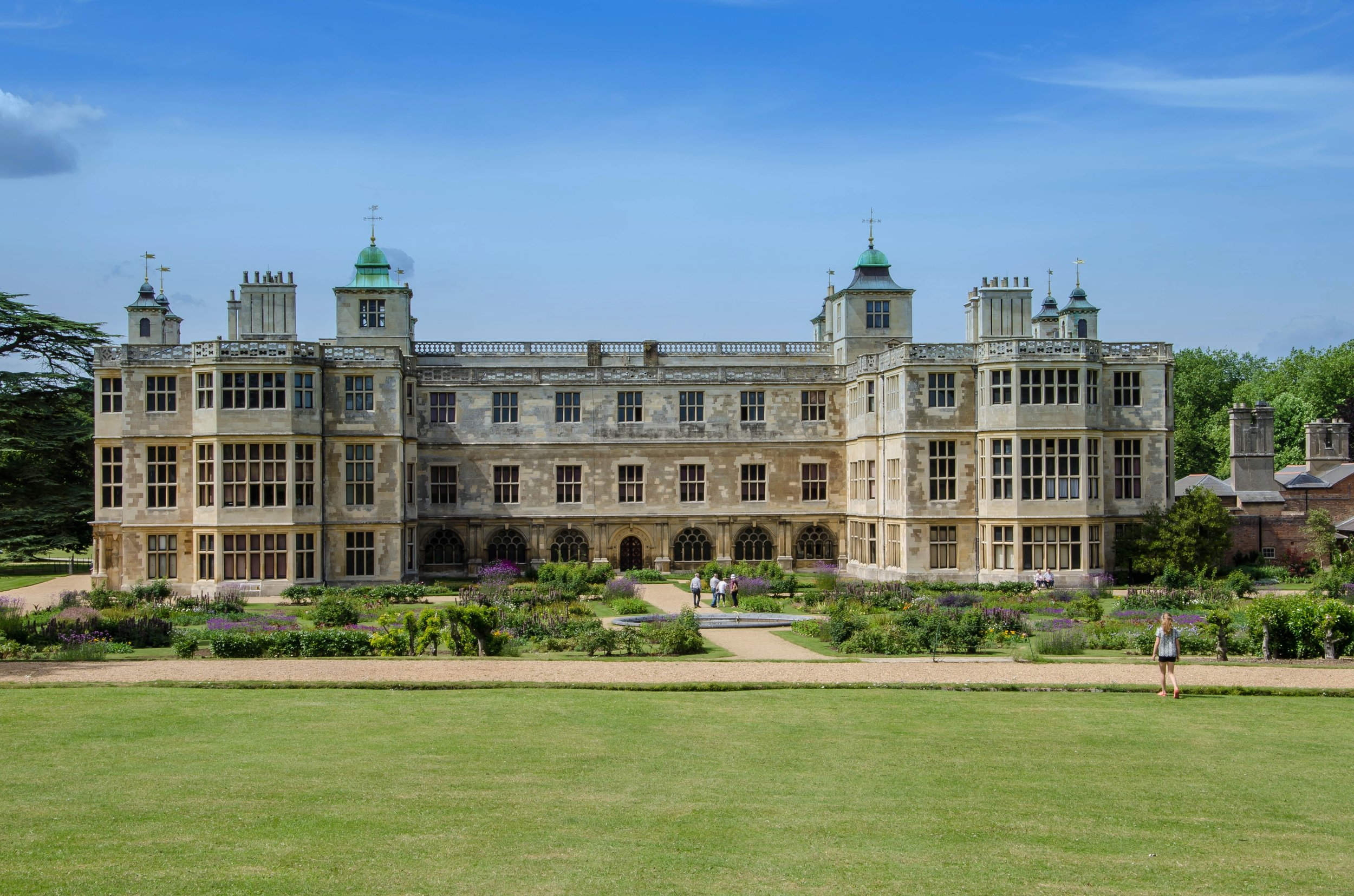 Audley End House & Gardens, located off London Road, Saffron Walden, Essex, CB11 4JF