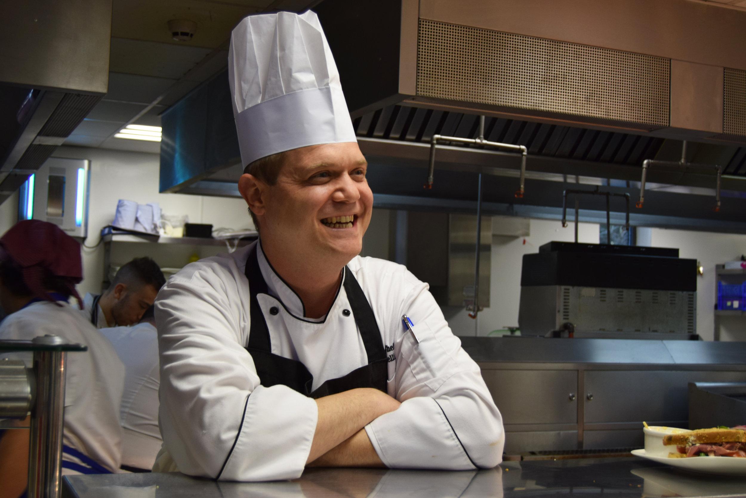 Chef Ugo Simonelli Lifehouse Spa Restaurant in Essex