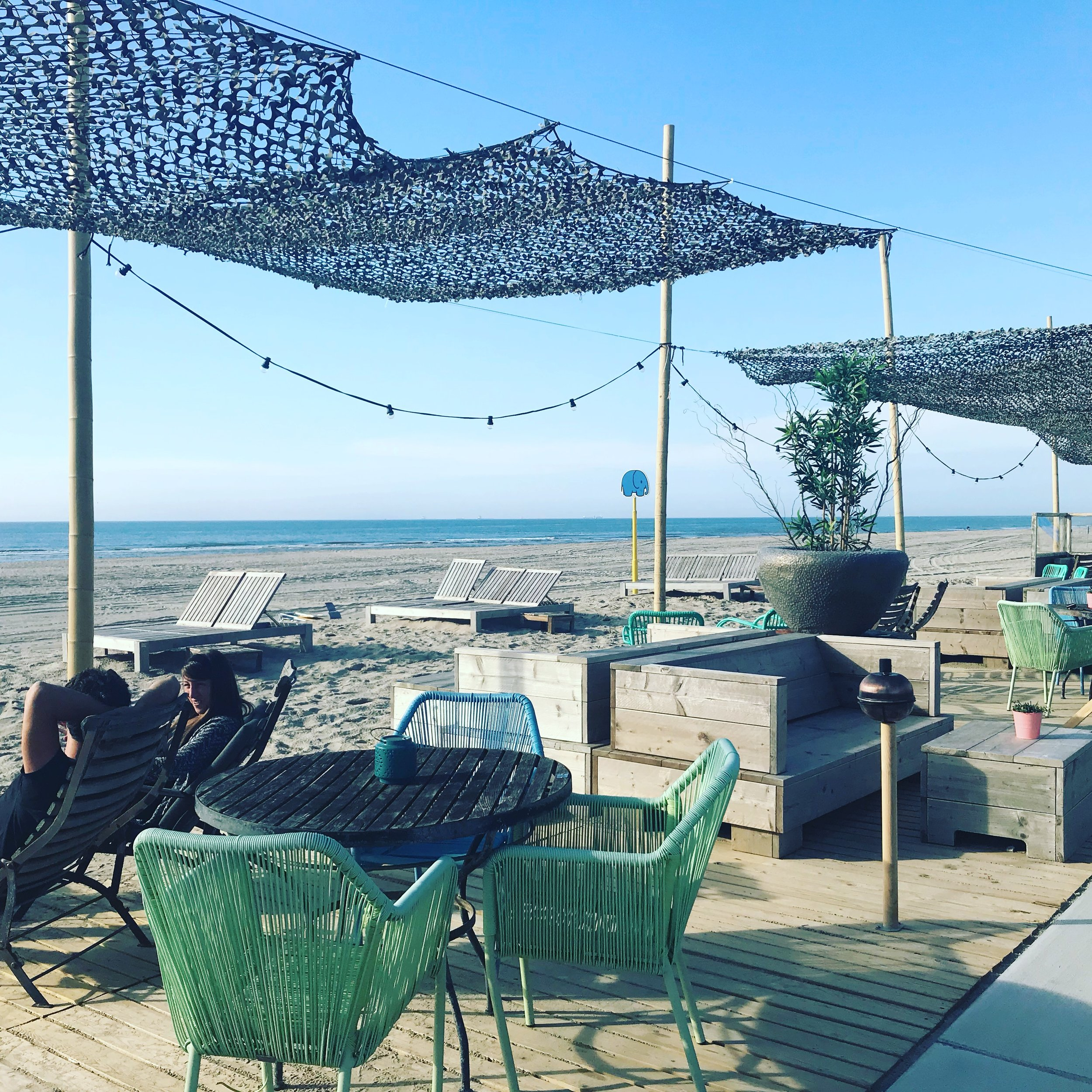 Suiderstrand cafe in Scheveningen the Hague Holland
