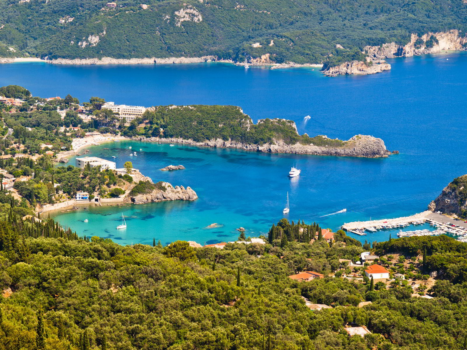 Fly from Southend to Corfu